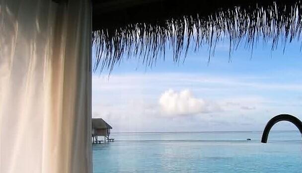 马尔代夫卡尼岛度假村露天沐浴