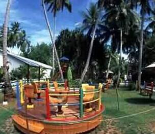 马尔代夫天堂岛热带风光