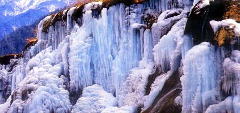 凯发k8娱乐下载地址冬季结冰冰川冰瀑12月份1月