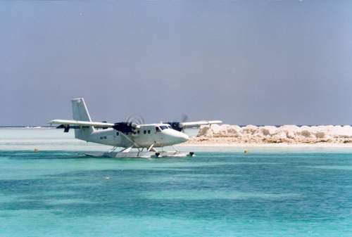 马尔代夫椰子岛Kurumba Maldives水上飞机