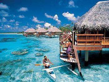 天堂岛Paradise Island水上房_马尔代夫