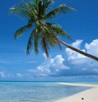 马尔代夫天堂岛海滩