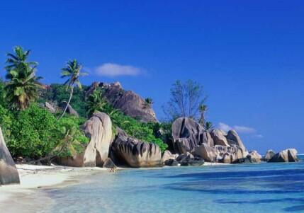 马尔代夫天堂岛沙滩