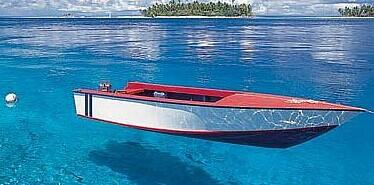 马尔代夫天堂岛水上娱乐设施