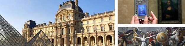 法国巴黎卢浮宫景点